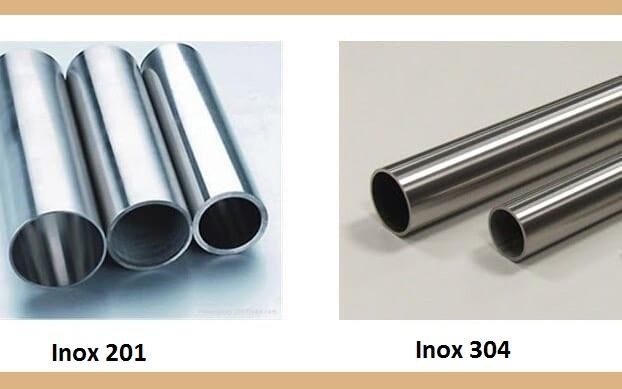 Phân biệt inox 201 và 304