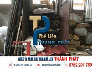 THU MUA PHẾ LIỆU KCN HÒA TRUNG